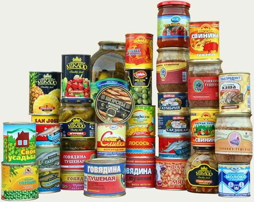 canned food 0